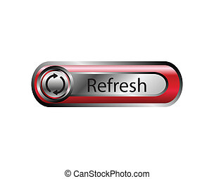 Vector illustration of refresh icon