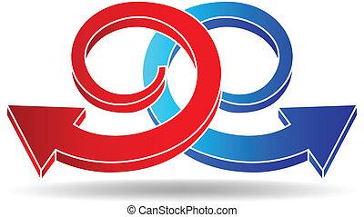 vector illustration of reload symbol