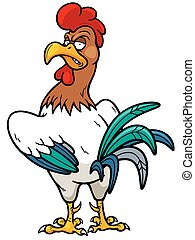 Rooster - Vector Illustration of Rooster