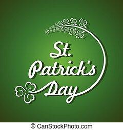 Saint Patricks day design