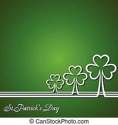 Saint Patrick's Day Design - Vector Illustration of Saint...