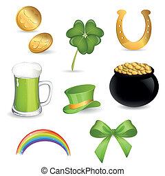 Saint Patrick's Day - Vector Illustration of Saint Patrick's...
