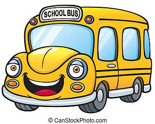 School bus - Vector illustration of School bus