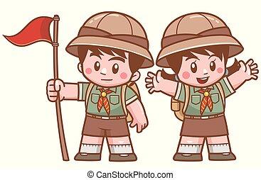 Scout kids