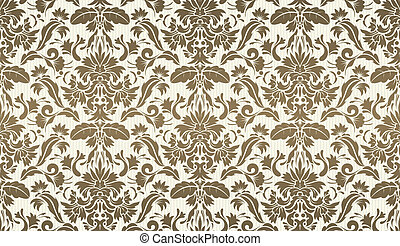 Decorative wallpaper background - Vector illustration of ...