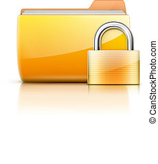 security concept - Vector illustration of security concept ...
