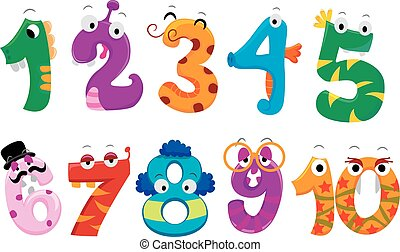 Set of Numbers Monster