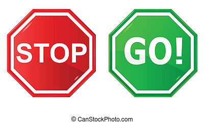 Vector illustration of sign : Stop