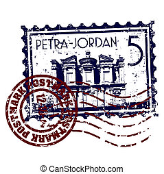 Vector illustration of single isolated Jordan icon