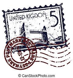 Vector illustration of single isolated UK icon