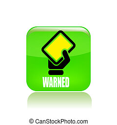Vector illustration of single isolated yellow tag icon