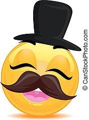 Smiley Emoticon Hipster