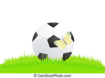 ball with butterfly