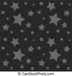 Halftone texture. Background with stars. Abstract beautiful background. Vector illustration