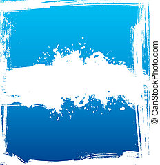 Splash banners - Vector illustration of Splash banners