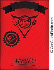 Steak Menu Poster