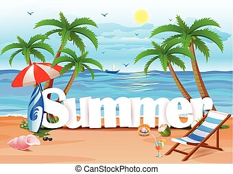 Summer wallpaper background