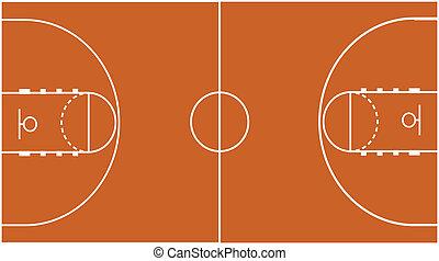 Basketball Court Field