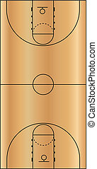 Vector Illustration of the Basketball