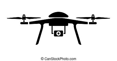 Drone icon - Vector illustration of the Drone icon
