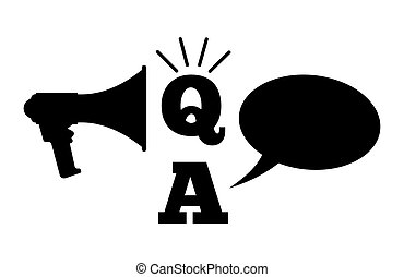 Q And A - Questions And Answers - Vector illustration of the...