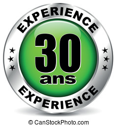 thirty years experience icon