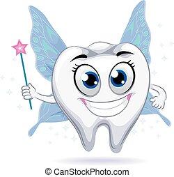Tooth Mascot Fairy
