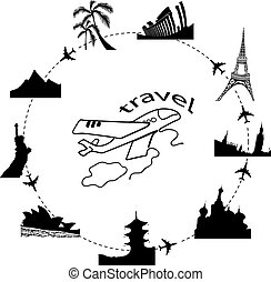traveling by plane