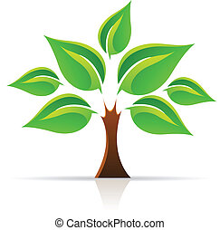 Tree Of Life - Vector illustration of Tree Of Life isolated ...