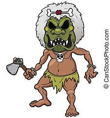 Tribal Warrior - Vector illustration of Tribal Warrior
