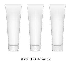 Tube of Cream - Vector illustration of Tube of Cream...