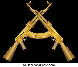 two gold ak