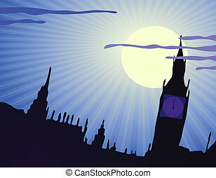 United Kingdom - Vector illustration of United Kingdom in...