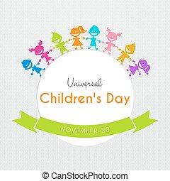 Universal Children day poster