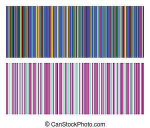 Vector illustration of vintage colored strips background