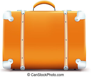 vintage suitcase - Vector illustration of vintage suitcase ...