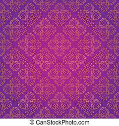 Vintage Wallpaper Seamless Pattern Original Design