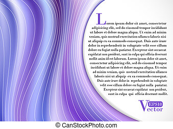 Violet Curtain background