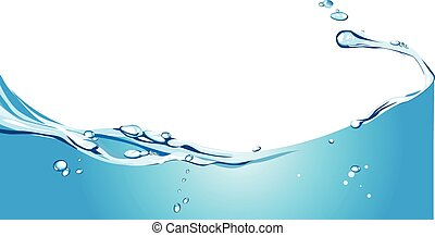 water background - Vector illustration of water background ...