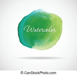 Watercolor design - Vector illustration of Watercolor design