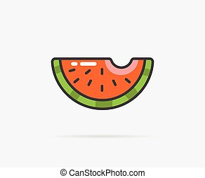 Vector Illustration of Watermelon
