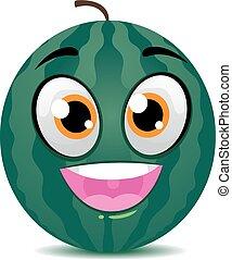Watermelon Mascot