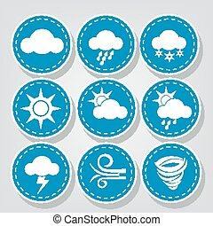 Weather Icons Stitched Sets