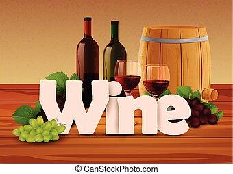 Wine wallpaper background