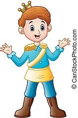 Young prince cartoon