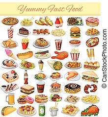 Yummy Fast Food Collection