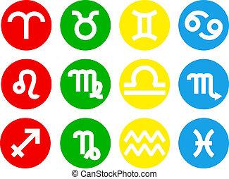 zodiac sign icons