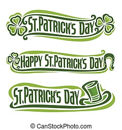 St. Patrick's Day - Vector illustration on the theme of St. ...