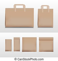 Paper Shopping Bag Brown
