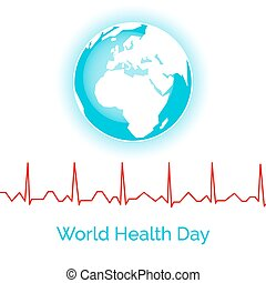 Poster for World Health Day.